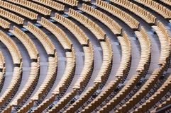 Stadium seat Royalty Free Stock Photos