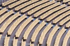 Stadium seat Royalty Free Stock Photography