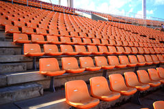 Stadium and seat Royalty Free Stock Image