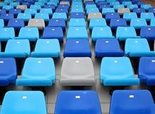 Stadium seat Royalty Free Stock Image