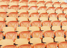 Stadium and seat Stock Photography