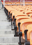 Stadium and seat Royalty Free Stock Photo
