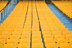 Stadium Seat. Empty Stadium Seat. Outdoor in guangzhou Royalty Free Stock Photo