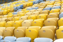 Stadium Seat Royalty Free Stock Image