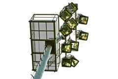 Stadium seat light Stock Photo