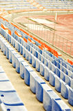 Stadium seat. Stock Photo