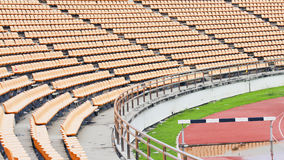 Stadium and seat Stock Photos