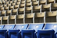 Stadium Seating Royalty Free Stock Photos