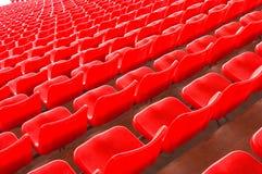 Stadium seating Royalty Free Stock Image