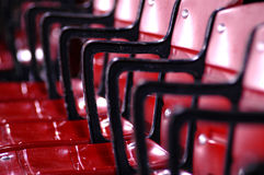 Stadium Seating Royalty Free Stock Images