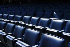 Stadium seats. A shot of seats of the Yankee Stadium in New York Stock Photography