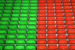 Free Stadium Seats Royalty Free Stock Image - 14252826