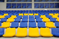 Stadium seats Stock Image