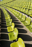 Stadium seats. Olympic Stadium Munich, Germany Royalty Free Stock Image