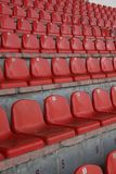 Stadium seats royalty free stock photo