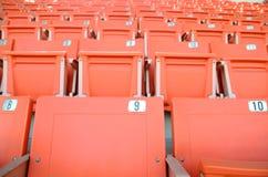 Stadium seats Royalty Free Stock Image
