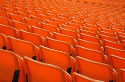 Stadium seats 3 Stock Photography