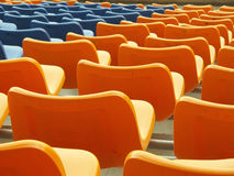 Stadium seats. Stock Photography