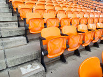 Stadium seats. Stock Photos