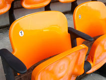 Stadium seats. Stock Images