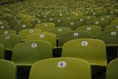 Stadium seats. Empty Stadium Seat Royalty Free Stock Photos