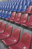 Stadium seats. Empty stadium seats Stock Photos