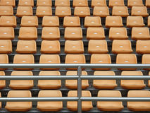 Stadium seats. Stock Image