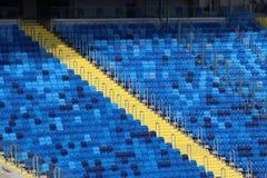 Empty stadium Stock Images