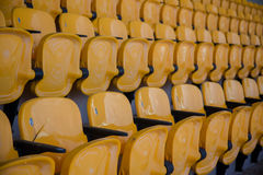Stadium seats Royalty Free Stock Photography