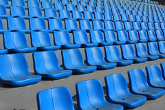 Stadium seats pattern Royalty Free Stock Photography