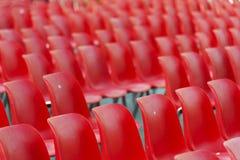 Stadium seats Stock Image