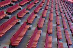 The stadium seats Stock Images