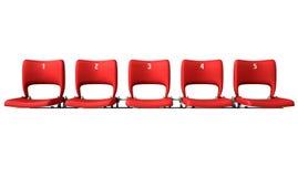 Stadium Seats Section Stock Photos
