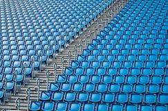 Stadium seats and stairs Stock Image