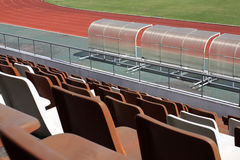 Stadium Seats Royalty Free Stock Image