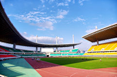 Stadium soccer game Stock Photos