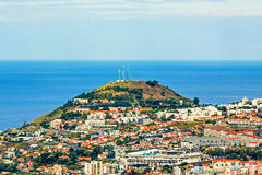 Stadium of soccer team Maritimo Funchal, Madeira, Portugal Stock Images