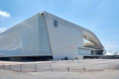 Stadium of Sport Club Corinthians Paulista in Sao Paulo, Brazil Royalty Free Stock Images