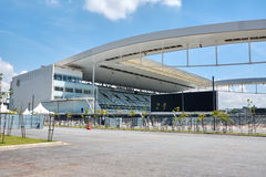 Stadium of Sport Club Corinthians Paulista in Sao Paulo, Brazil Stock Photo