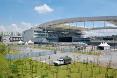 Stadium of Sport Club Corinthians Paulista in Sao Paulo, Brazil Royalty Free Stock Image