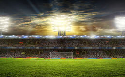 Stadium for sports Royalty Free Stock Images