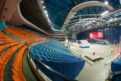 Stadium sports complex Olympic Royalty Free Stock Photography