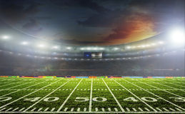 Stadium for sports and concerts empty on a sunny day Royalty Free Stock Photo