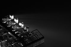 The Stadium Spot-light tower Royalty Free Stock Photography