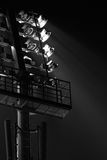 The Stadium Spot-light tower Royalty Free Stock Images