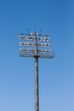 The Stadium spot-light tower. Stock Photography