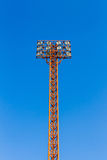 The Stadium Spot-light tower. Royalty Free Stock Photo