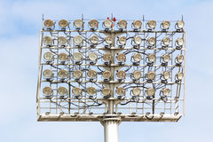 Stadium Spot-light tower Stock Photo