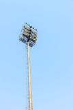 The Stadium Spot-light tower Royalty Free Stock Photo