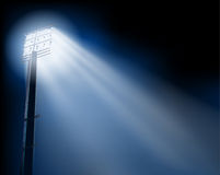 Stadium spotlights Royalty Free Stock Image